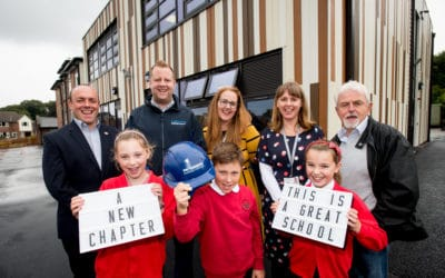 New term, new look for Cheshire school as building work completes