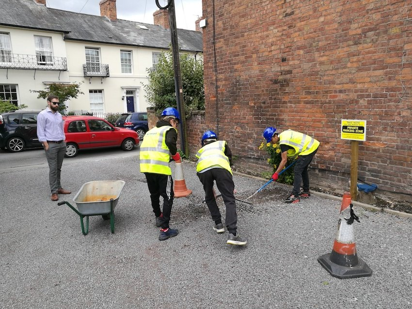 Pave Aways builds for the future with the Prince's Trust